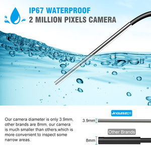 Image 4 - 3.9 Mm Wifi Borescope Endoscoop Camera IP67 Waterdichte 2000 Mah Semi Rigide Snake Camera Voor Android En Iphone, ios Samsung Pc