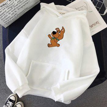2020 nowe zimowe ciepłe bluzy sportowe Plus aksamitne damskie studenckie kolegium śliczne nadruk kreskówkowy bluzy z długim rękawem bluzy tanie i dobre opinie LOOZYKIT WOMEN Pełne POLIESTER CN (pochodzenie) Pasuje na mniejsze stopy niezwykle Proszę sprawdzić informacje o rozmiarach ze sklepu