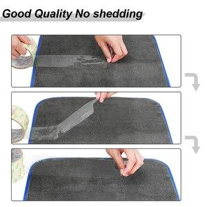 Image 5 - Myjnia samochodowa ręcznik Super ręcznik z mikrofibry czyszczenie samochodu 1200GSM produkty samochodowe Auto wosk do prania szmaty do suszenia szmat do samochodu
