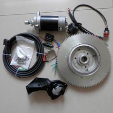 T30ไฟฟ้าSTART KITสำหรับYAMAHA F30HMHS/L HWL MHL 2T 496CC T25 E30 25 30HP OUTBOARD STARTERมอเตอร์FLYWHEEL CHARGE COIL SWITCH