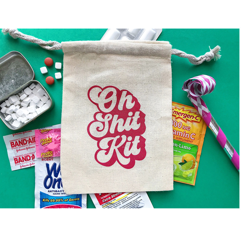 Personalized Bachelorette Party Decorations Hangovers Kits Bags 10pcs Cotton Wedding Favors And Gifts Box Event Party Supplies