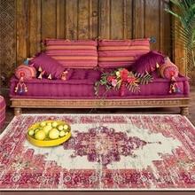 Estilo marroquí sala de estar alfombras grandes dormitorio mesita de noche estudio decoración antideslizante alfombras de suelo cocina Vintage baño alfombras