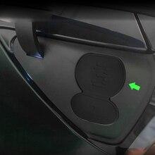 Araba şarj portu su geçirmez kapak şarj deliği silikon koruyucu modifikasyonu Tesla modeli 3 CCS ab oto araba aksesuarları