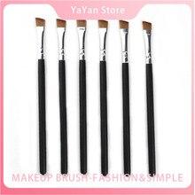 цены Single Makeup Brush Cosmetic Brushes Kabuki Face Nose Brushes Eyebrow Eyeliner Blush Powder Foundation Concealer Makeup-Tool