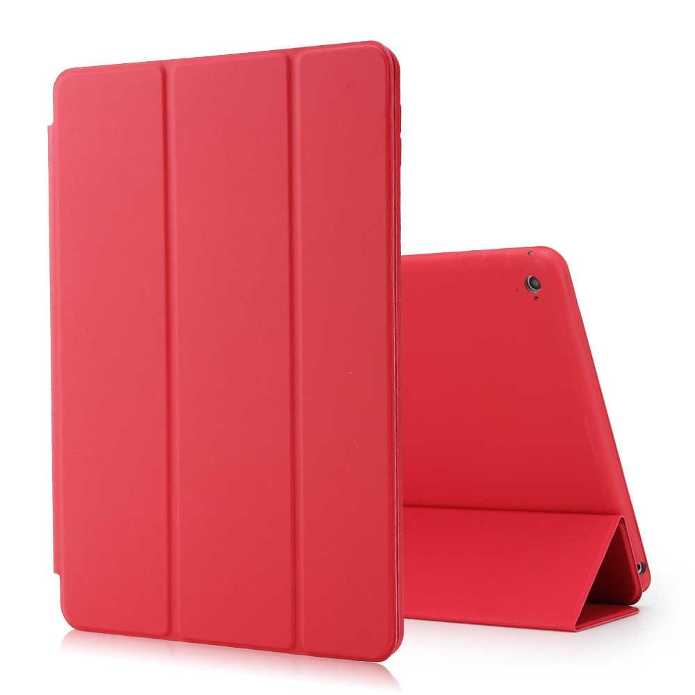 Ốp Lưng Dành Cho iPad 2018 2017 9.7 6th 5th Thế Hệ Ốp Lưng Mỏng Từ Da PU Đứng Thông Minh Cho iPad air 1 2 Funda Coque