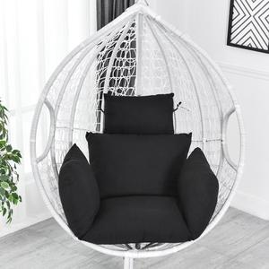 Hanging Hammock Chair Swinging Garden Outdoor Soft Seat Cushion Seat 220KG Dormitory Bedroom Hanging Chair Back with Pillow