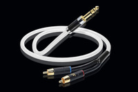 Hifi 6.35mm to 2RCA Cable Hi end Copper and Silver plated 6.5 to Dual RCA Audio Cable