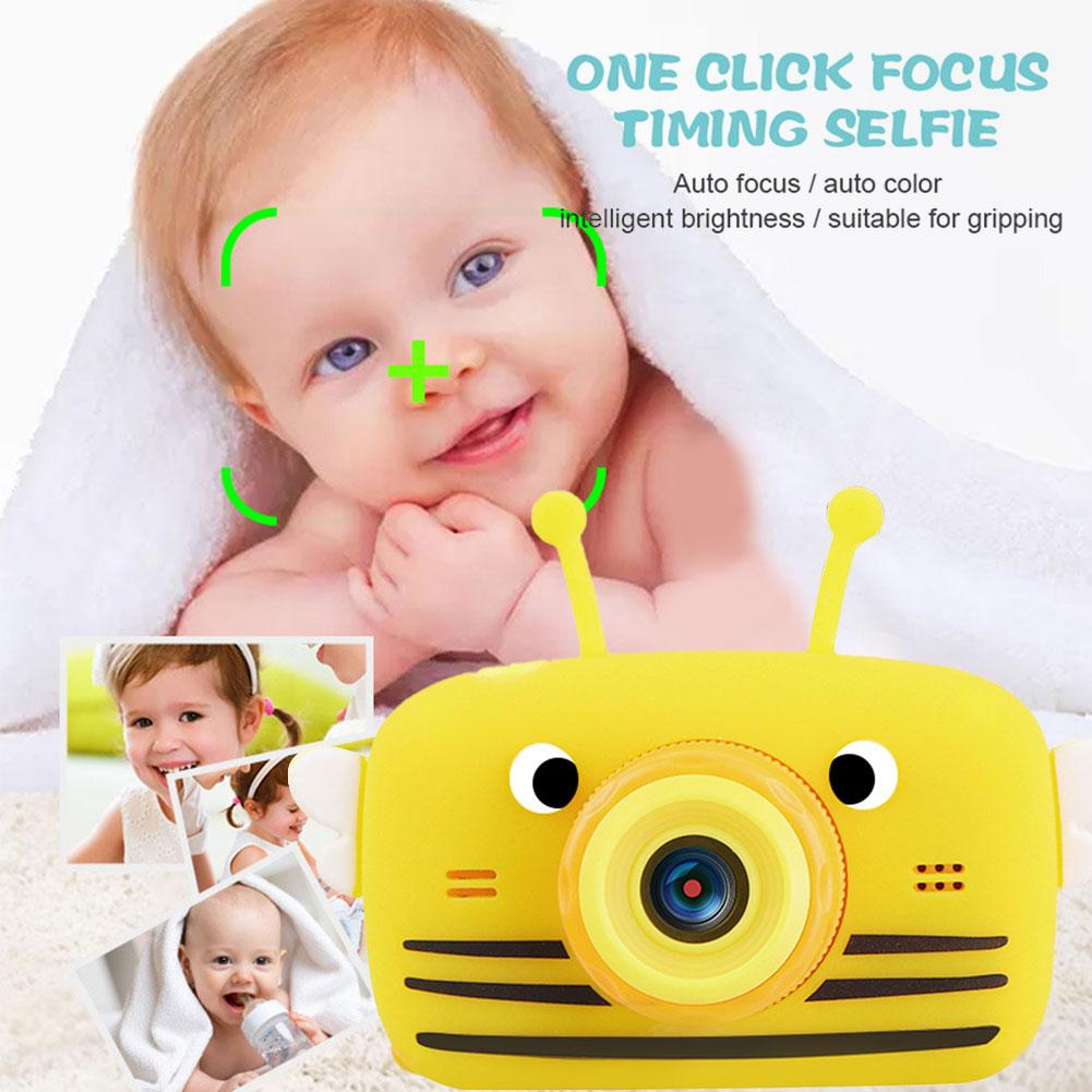TFT2.0 Inch Kids Camera Children HD 2000W Video Camera Educational Toys With 32GB TF Card Great Gifts For Toddlers