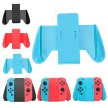 Konfor kavrama kolu el braketi destek tutucu şarj Nintendo Nintendo anahtarı NS için 2 Joy Con kavrama kolu braketi tutucu