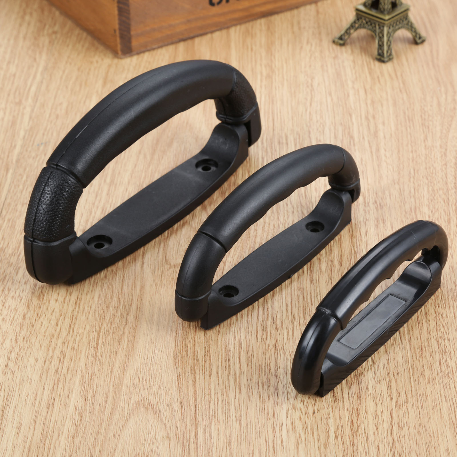 1Pc Plastic Luggage Suitcase Case Box Pull Replacement Carrying Handle Strap Air Bags Box Accessories 108/125/160mm