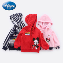 Disney Boysand Girls Tops Boys Jacket Kids Coat Baby Clothes Girl Mickey Mouse Clothing