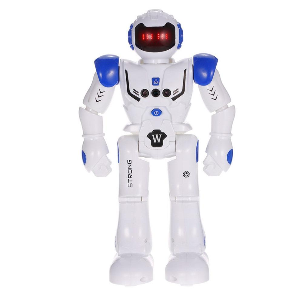 Children New Intelligent Programming Gesture Sensing LED Dancing Robot RC Remote Control Toy  USB Charging Kid Gift High Quality