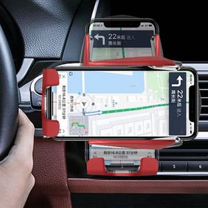 Image 3 - Kisscase רכב מחזיק טלפון לרכב בעל טלפון לעמוד יציב קבוע סוגר תמיכה הכבידה חישה אוטומטי אחיזה אלחוטי טעינה