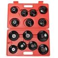 14 шт. масляный фильтр для удаления гаечного ключа колпачок торцевой привод инструмент для удаления автомобиля набор для Ремонта Универсаль...