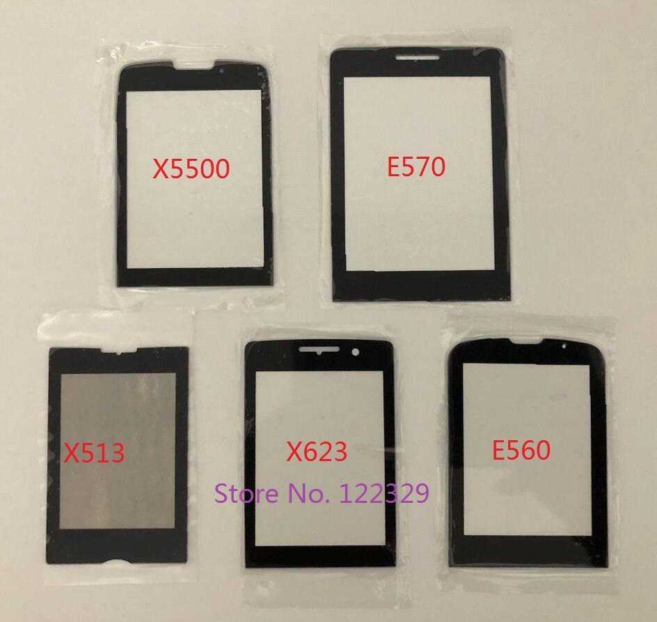 For <font><b>Philips</b></font> Xenium E570 E571 X623 X513 X5500 <font><b>E560</b></font> Front Panel not Touch Screen Mobile Phone glass lens Replacement image