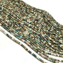 Очаровательные бусины из натурального камня граненые россыпью