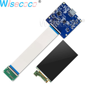 Image 1 - 5.5 inch 4k LCD Screen 3840*2160 Resolution Panel Lcd Display With Hdmi To Mipi For VR 2018 And Hmd 3D printer diy project