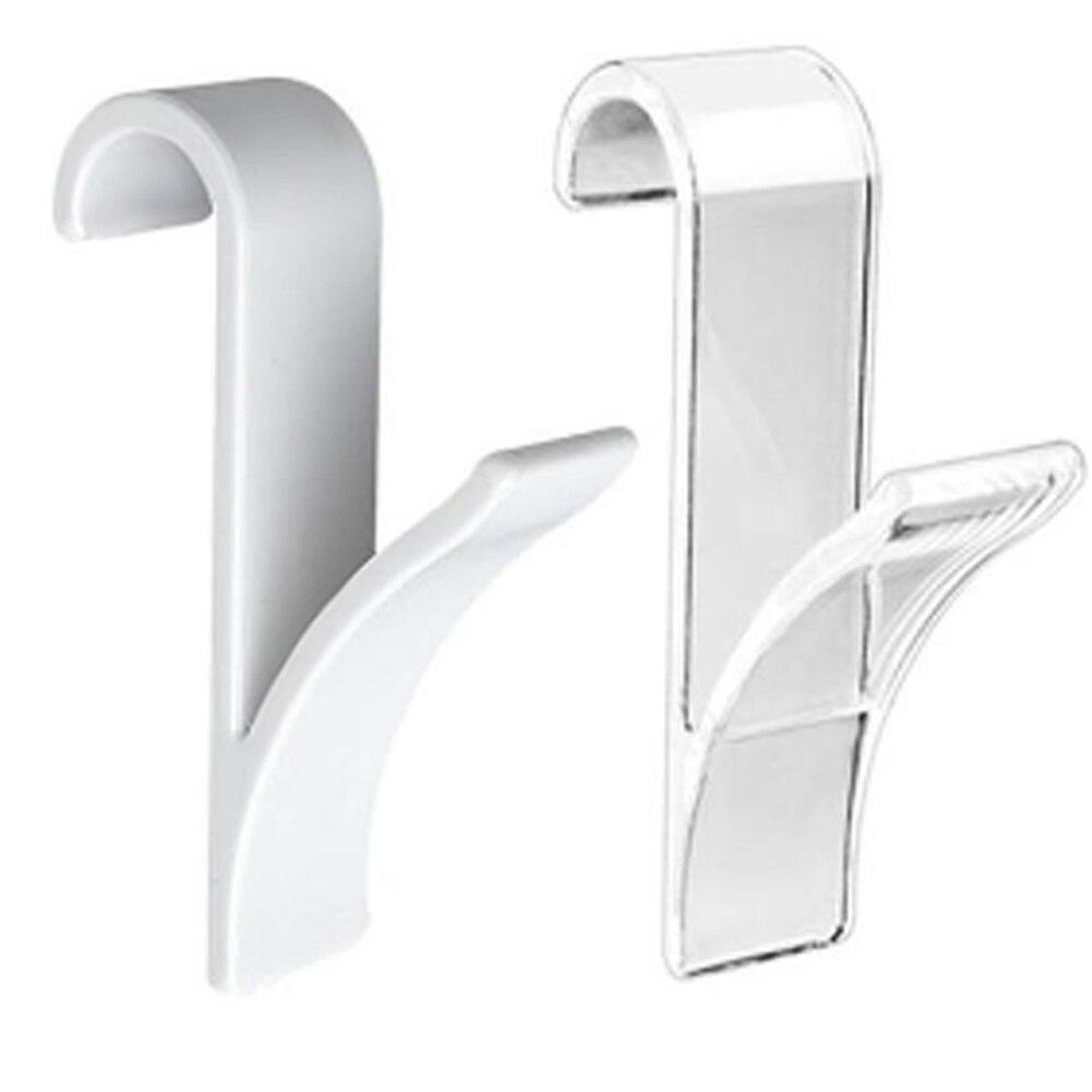 Towel Mop Hooks Hanger Storage Holders Clothes Hat Rail Radiator Tubular Bath Hook Holder @LS