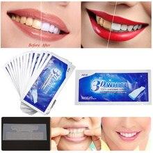 1 шт. 3D белый гель отбеливающие полоски для зубов Гигиена полости рта двойные эластичные полоски для зубов ручка для отбеливания зубов белее полоски инструменты TSLM1