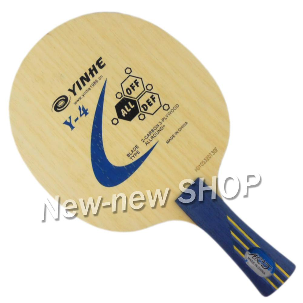 Yinhe Y-4 Attack+Loop Allround+ Table Tennis Blade For PingPong Racket