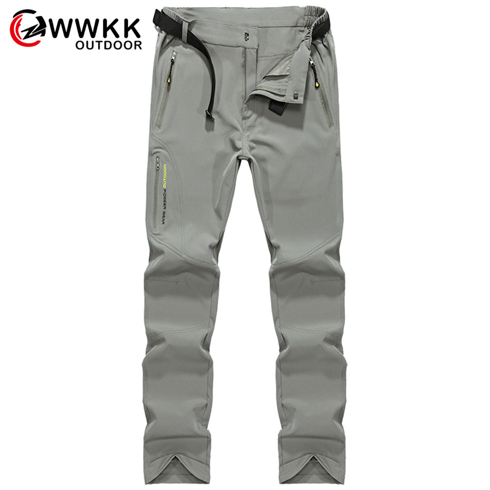 Outdoor Couple Sport Quick-Drying Waterproof Casual Stretch Pants Breathable Sunscreen Camping Hiking Fishing Tactical Men&Women