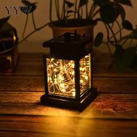 Party Decor Lantern Courtyard Light Solar Charge Waterproof Black Light Home Outdoor Decoration Led Star Light Garden Light