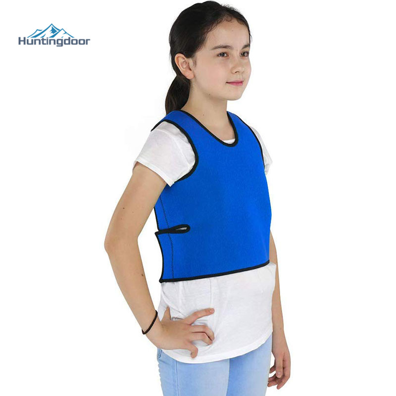 Compression Vest Comfort For Autism, Sensory Deep Pressure Vest For Kids, Hyperactivity, Mood Processing Disorders, Breathable