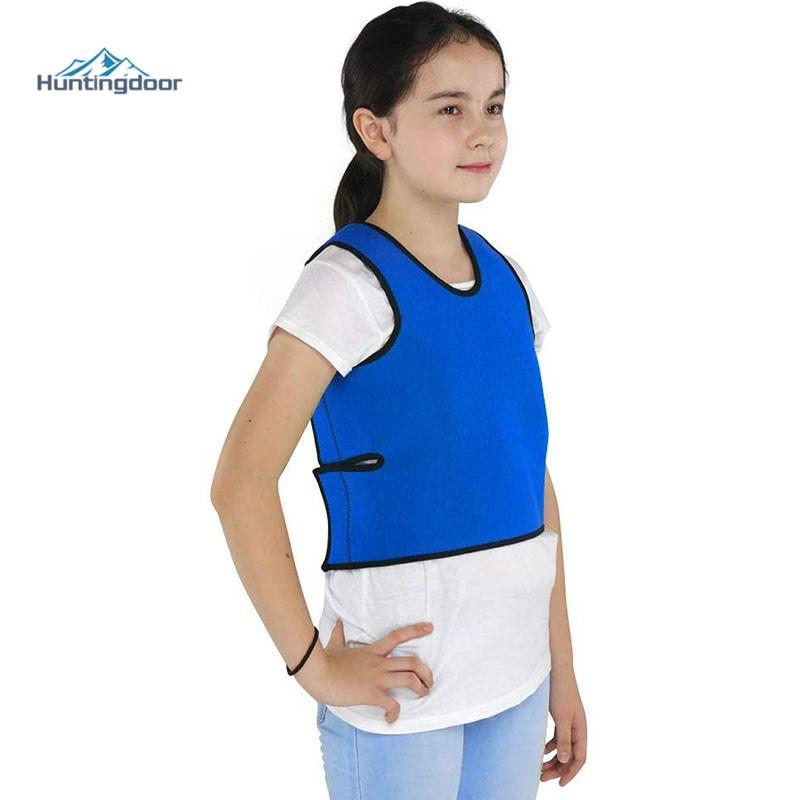Compression Vest Comfort For Autism, Sensory Deep Pressure Vest For Kids, Hyperactivity, Mood Processing Disorders, Breathable