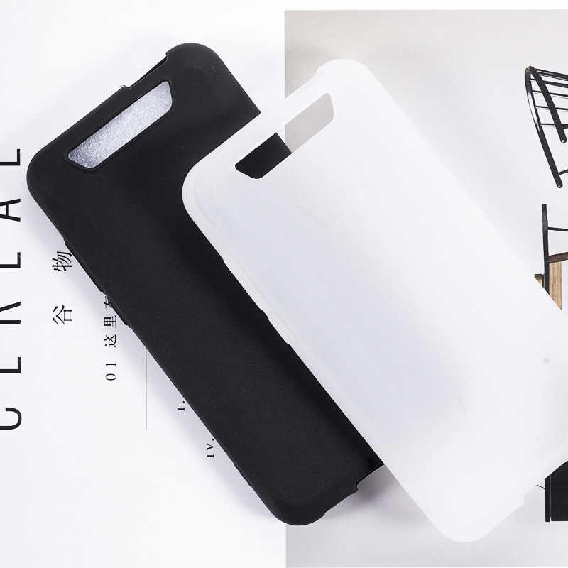Blackview BV5500 Pro funda de silicona suave TPU mate Pudding Negro teléfono Protector Shell para Blackview BV 5500 Capa Coque 5,5""