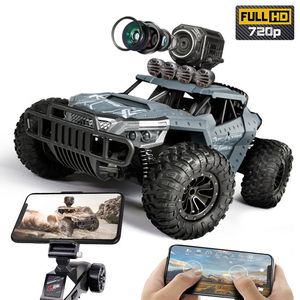 2020 NEW 1:12 RC Car 2.4GHz 4WD With HD Camera Cars Off Road Buggy Toy High Speed Climbing RC Car Real-time transmission Toys