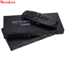 4 Channel Tv Video Wall Controller 2X2 1X3 1X2 1X4 4X1 3X1 2X1 Hdmi Dvi Vga Usb Video Processor 4K 60Hz Muur Tv Splicing screen
