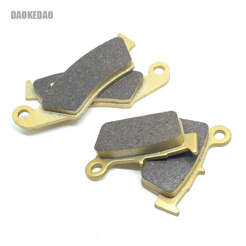 Motorcycle Front Rear Brake Disc Pads Set for <font><b>Yamaha</b></font> YZ125 YZ250 YZ250F YZ450F 03-07 WR250F 03-16 WR250R 08-18 WR450F 03-15 image