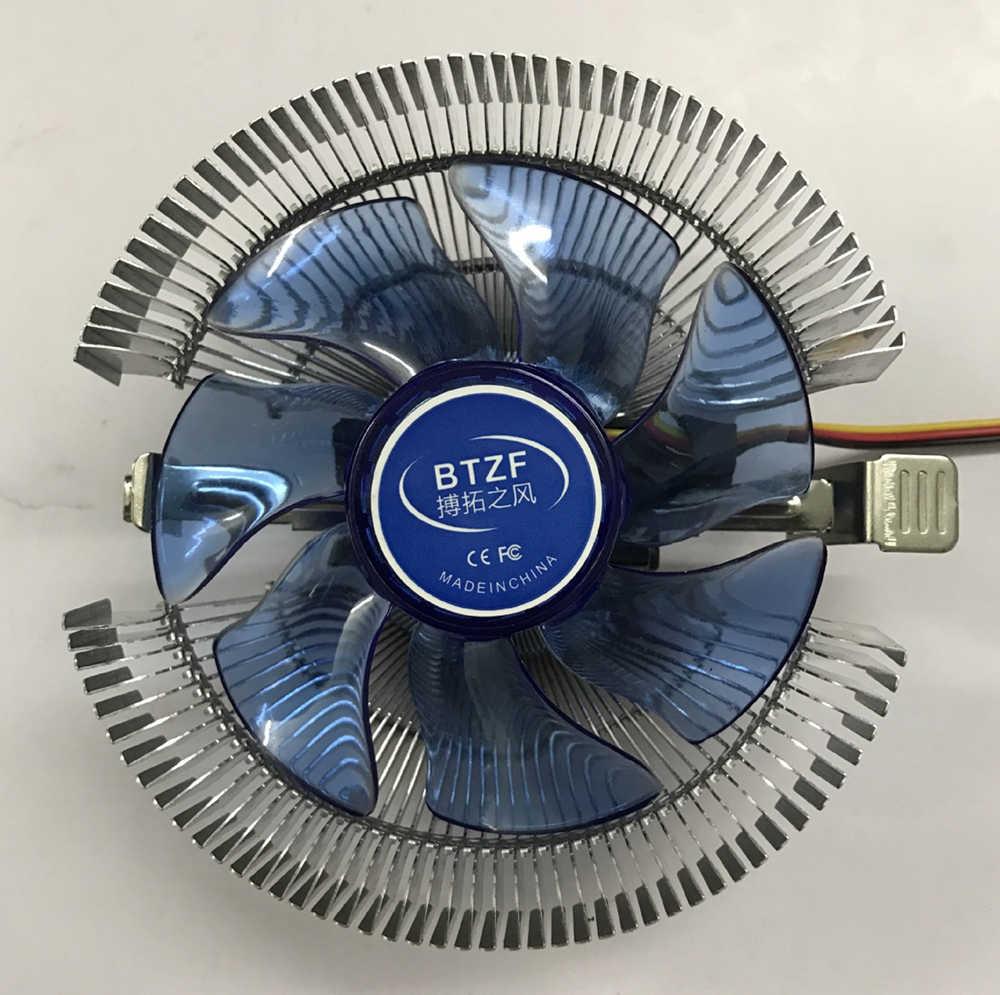 3Pin CPU cooler Led ความร้อน AMD Intel cpu พัดลมระบายความร้อนพัดลมฮีทซิงค์ LGA/1151/1150/ 1155/1156/775/AM3/AM4