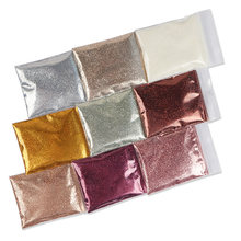 10g parlayan parlak tırnak tozu Sequins altın gümüş ince Glitter toz parlak krom Pigment tozu tırnak süslemeleri manikür
