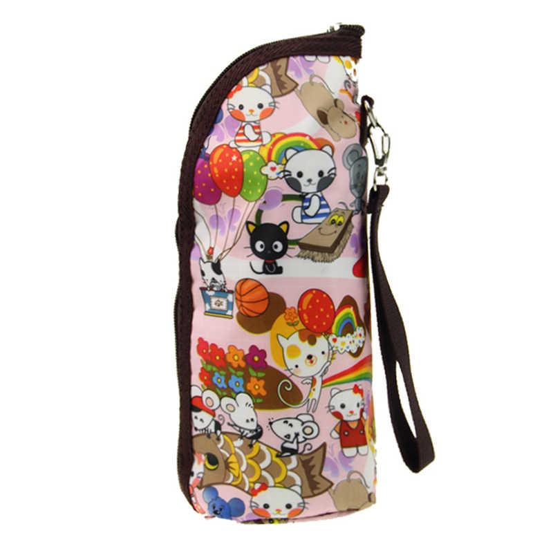Calentadores de leche de agua para bebé, bolsas portatil para biberones, bolsa de aislamiento, bolsa para cochecito, bolsa para colgar, accesorios