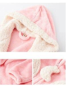 Image 5 - Fashion Coral Velvet Long Robes Women Sleepwear Sexy Long sleeve Thicken Warm Quality Zipper Bathrobes Women Winter Kimono Robes