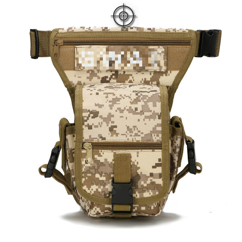 Outdoor Tactical Waist Bag Drop Leg Bags Hiking Camping Trekking Military Shoulder Bags Nylon Army Multi-function Pack