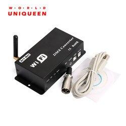 WF310 WiFi verbindung DMX512 master controller, Android & IOS availaable, 512 CH ausgang, Musical control funktion, artnet unterstützung