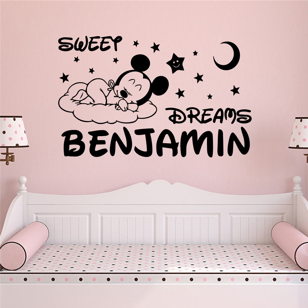 Wall Stickers Kids Girls Name Stickers For Kids Personalised Name Stickers Name Wall Stickers Kids Wall Stickers Wall Name Stickers For Children Vinyl Stickers Personalised