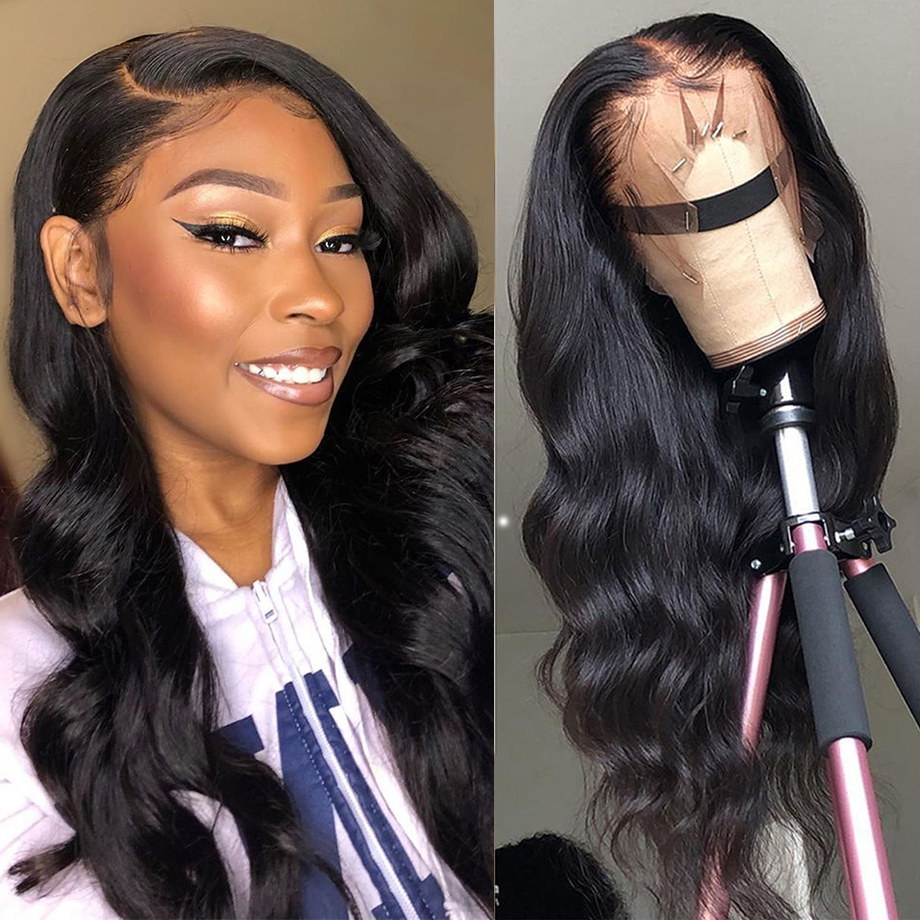 360 Lace Frontal Wig Body Wave Human Hair Wigs Body Wave Lace Front Wig With Baby Hair Brazilian Human Remy Wigs For Black Women