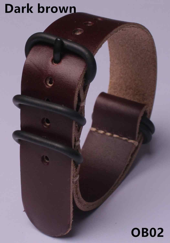 Watchbands עור לנשים גברים שעון 18mm 20mm 22mm24mm מתכת פלדת אבזם אבזם להקת החלפת רצועת צמיד אבזרים