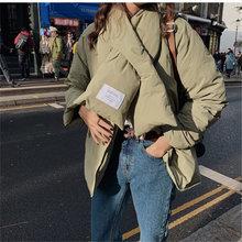 Женские двухсторонние хлопковые теплые куртки Зимние Повседневные
