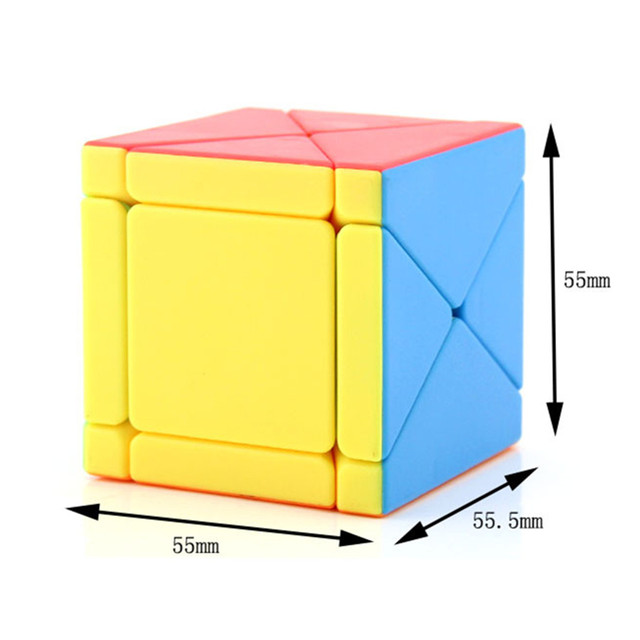 Moyu Fisher Skew Cube X-cube 3x3x3 Cubo Magico Puzzles For Adults Games Education Toy Antistress Toys For Children Strange Shape 2