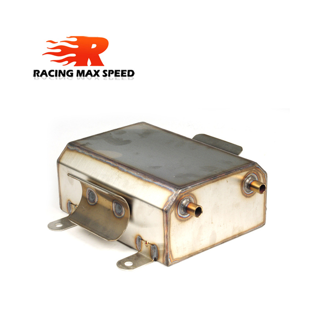 AUTO 3.5 L Stainless Steel FUEL PUMP SURGE TANK Fuel Tank Fuel 1/4 Mile Turbo E85 OCT 1123 SI