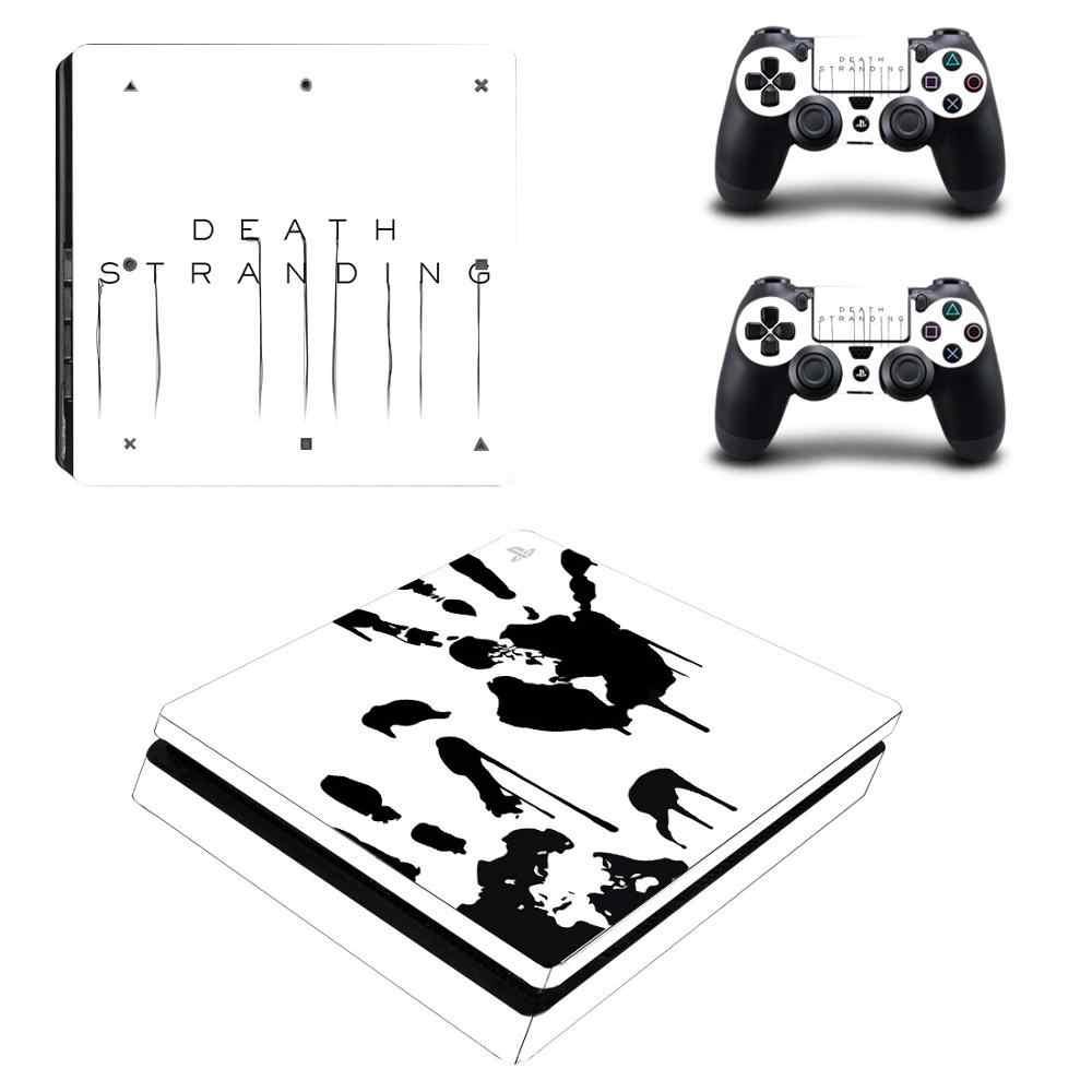 PS4 Slim Playstation 4 Console Skin Decal Sticker Army Gun 2 Controller Skins