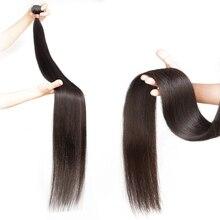 Straight Human Hair Weave Bundles 8 to 3
