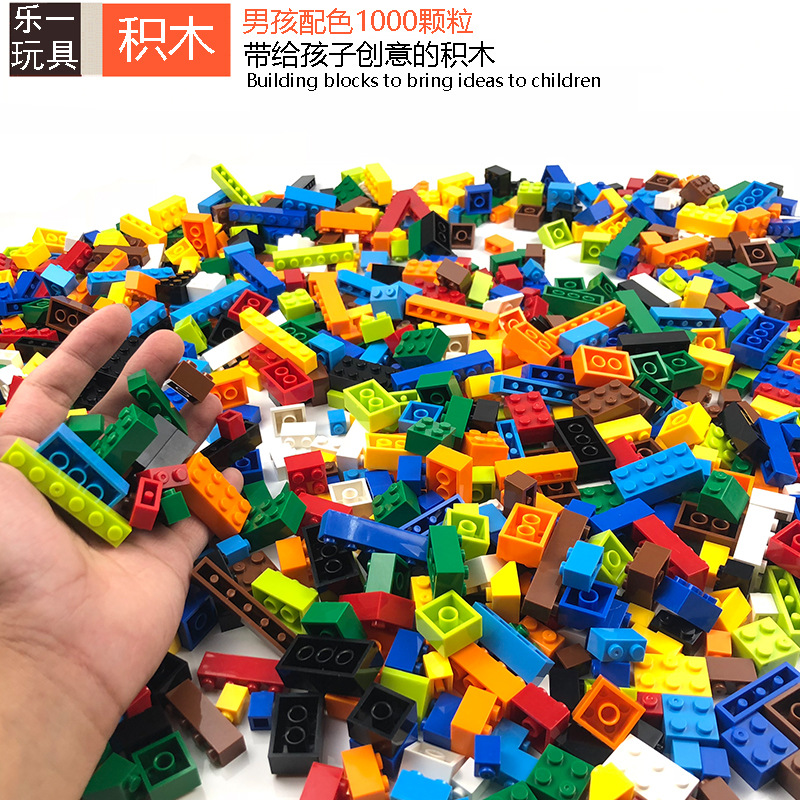 1000pcs Creative Boy Building Block Educational Toys For Children Compatible With Legoingly Friends Minecraftingly Classic Brick