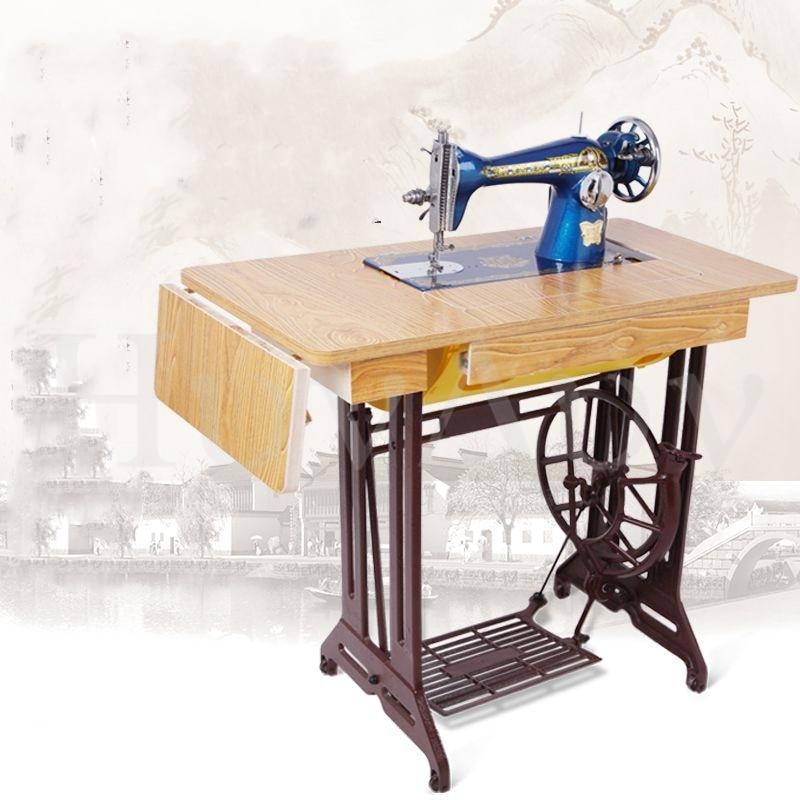 Borboleta marca casa máquina de costura do vintage pedal máquina de costura manual elétrico grosso máquina de costura|Peças de ferramentas| - AliExpress