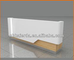 Foshan kaerda escritorio frontal de oficina | Escritorio de caja | Escritorio de recepción | Mostrador de Bar | mesa Simple