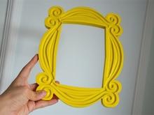 Série TV amis Monica porte jaune cadres Photo à la main Mon bois à collectionner décoration de la maison Collection cadeau accessoires de Cosplay